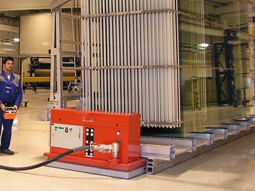 01_Projekt_Glas Industrie_Transporter auf Luftkissen in Vacuumofen_pic 1