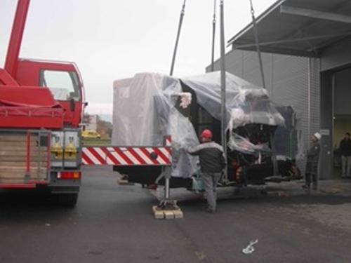 01_Projekt_LKS Full Service_Transport_Anlad und Einbringung_Bearbeitungscenter_pic 2