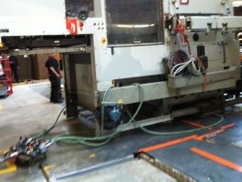 01_Projekt_Verpackung Industrie_Maschine Umstellung_Luftkissen_pic 2