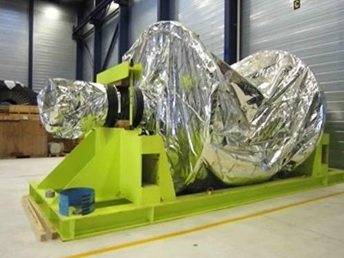 """02_Projekt_Flugzeug Industrie_100 t Verschiebung_Turbinenl""""ufer_Luftkissen_pic 1"""