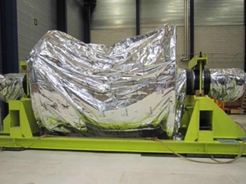 """02_Projekt_Flugzeug Industrie_100 t Verschiebung_Turbinenl""""ufer_Luftkissen_pic 3"""