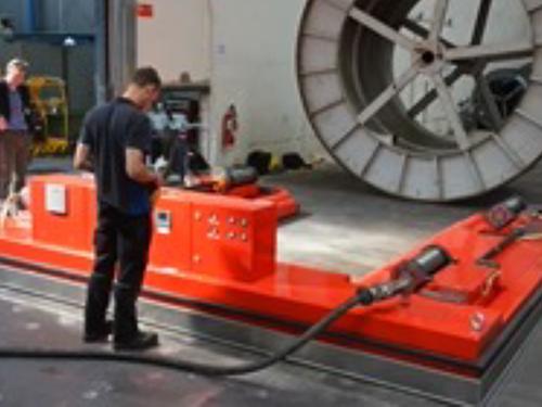 02_Projekt_Kabel Industrie_Rollentransport_AGVs_pic 2